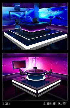 STUDIO DESIGN.. 1 TV by akula13 on DeviantArt