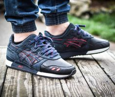 Ronnie Fieg x Asics Gel Lyte III Total Eclipse/Leather Toes (by nosizenine.5)