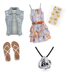 """SPRING TIME"" by mercy123 ❤ liked on Polyvore featuring GUESS by Marciano, Billabong, Ankit and Bling Jewelry"