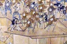 Appearance of fire fighting in the Edo era, tools (enlarged image)
