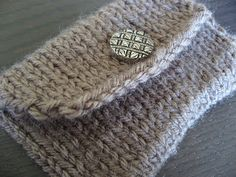 Think Crafty Thoughts: Pattern: A Knitted Pocket free pattern
