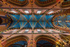 Krakau, Ceiling of St Mary's Church by Maarten Hoek on 500px