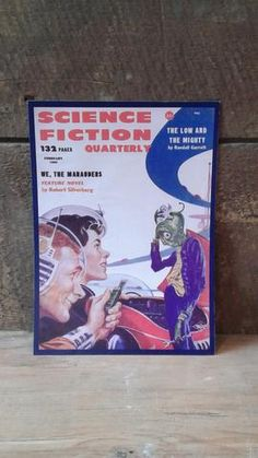 Couverture science fiction | Science Fiction Quarterly | We, the Marauders | 6 x 8.5