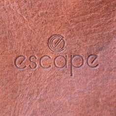 """Conceptual Creatives on Instagram: """"We love the process but there's nothing better than seeing our logo for Escape go from screen to product!"""" Our Love, Logos, Creative, Instagram, Design, Logo"""