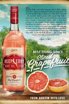 Deep Eddy Grapefruit Vodka! Coming April 2013!!