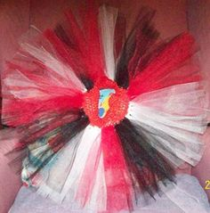 Tutu! - Wisconsin Badgers! - Fits Baby to 4T! by SewCraftCrazy4U on Etsy