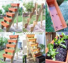 Great small space garden idea