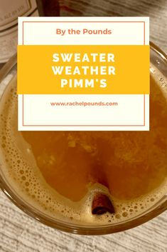 Don't Judge Me Mondays: Sweater Weather Pimms - By the Pounds Candice Brown, British Baking, Great British Bake Off, Don't Judge Me, Amazing Recipes, Mondays, Sweater Weather, Bon Appetit, Cinnamon Sticks