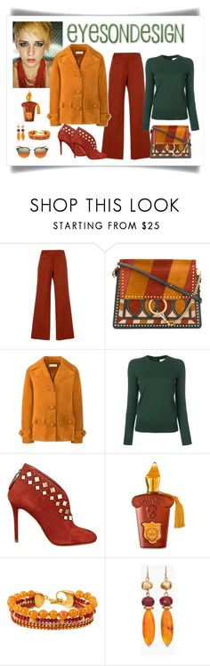 """""""Tory Burch Equestrian Tan Suede Jacket Look"""" by romaboots-1 ❤ liked on Polyvore featuring Tory Burch, Chloé, GUESS, Henri Bendel, Chico's and Ray-Ban"""