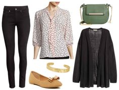 Fabulous Find of the Week: JCPenney Polka-Dot Bow Blouse - College Fashion