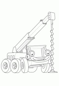 awesome bob the builder 83 coloring page Mcoloring Pinterest