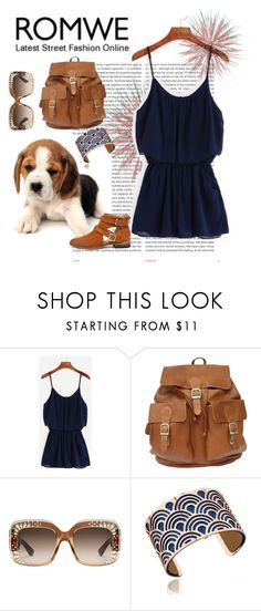 """""""Untitled #15"""" by danistrasss ❤ liked on Polyvore featuring Oris, Gucci, Les Georgettes and Chinese Laundry"""