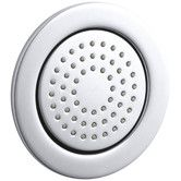 Found it at Wayfair - Watertile Round 54-Nozzle Bodyspray with Soothing Spray