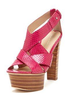 Mary2 Platform Heel