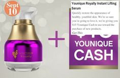 A Royal Introduction Younique Royalty Instant Lifting Serum: www.teelieturner.com #skincare