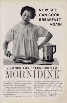 « Maintenant, elle peut à nouveau préparer le petit-déjeuner. » | 17 publicités des années 1950 horriblement sexistes