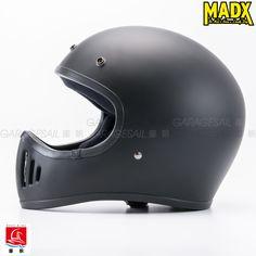 Retro Motocross Helmet