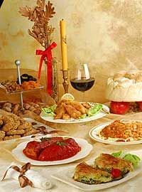 Christmas dinner #Serbia #Christmas #tradition