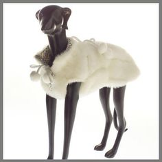 Ermine Faux Fur Coat
