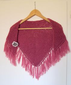 shawl with fringes