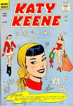 COMIC katy keene 57 #comic #cover #art