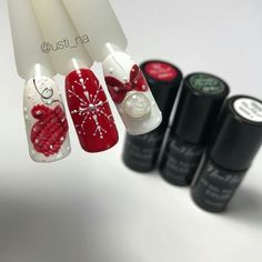 Awesome Holiday Winter Nails Art Designs Ideas 2019 09 - Although women tend to neglect their nails during the colder months, it is the most important time to take care of your nails! As you know, the cold a. Chistmas Nails, Xmas Nails, Christmas Nail Art, Holiday Nails, Winter Nail Designs, Winter Nail Art, Winter Nails, Nail Art Designs, Professional Nail Designs