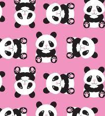 Panda kangas <3<3 kaikissa väreissä ^_^