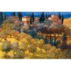 Florentine Landscape Canvas Art - Philip Craig (12 x 18)