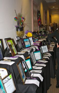 Silent Auction Display