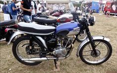 1965 Triumph Tiger Cub 199cc Cingle-Cylinder 4-Stroke 10Bhp OHV Engine