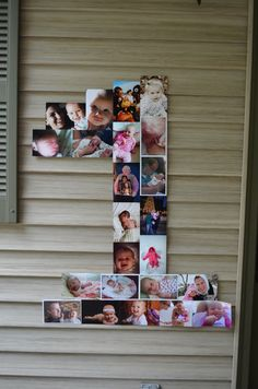 1 made out of pics for 1st Birthday Party