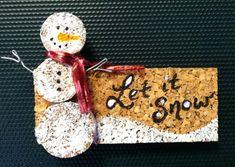 """""""Let it Snow"""" magnet"""