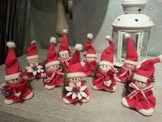 Il Feltro di Maya: Angeli Babbini Natale