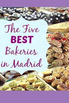 Madrid is home to many bakeries serving deliciously indulgent goodies. If you haven't already, you must visit the 5 Best Bakeries in Madrid and find out what you're missing! http://madridfoodtour.com/5-best-bakeries-in-madrid/