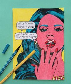 Sid And Nancy, Movin On, Dark Paradise, Glossier Stickers, Art For Sale, Fashion Art, Pop Art, Etsy Shop, Comics