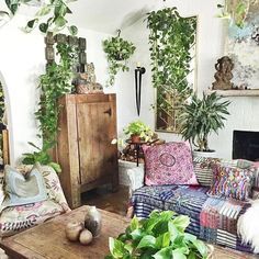 Loving this dreamy plant filled room  photo via @spirits.of.life