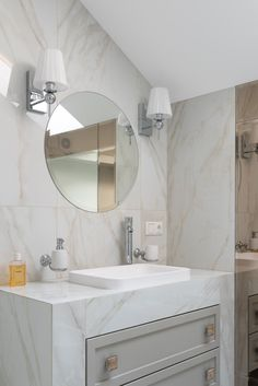 Besides functional priorities like having enough storage, the right placement, the best materials matched perfectly, an all-modern bathroom vanity presents a unique opportunity to show your style and a one-of-a-kind personality. #dreamhome #bhghome #traditionalbathroom #bathroomstorage #kitchenandbathdesign #luxuryhomedesign #loveyourhomeagain #bathroommakeover #bathroomremodeling #remodelgoals #sharemystyle #housenvy #bathroominspo #bathroomorganization #bathroomvanity #bathroomcabinets Bathroom Makeovers On A Budget, Bathroom Renovation Cost, Diy Bathroom Remodel, Budget Bathroom, Bathroom Vanities, Interior Door Installation, Counter Top Sink Bathroom, Home Design Magazines, Modern Bathroom