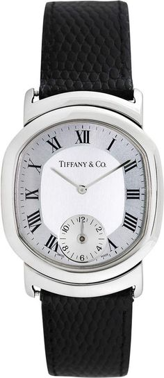 Tiffany & Co. Watches Men's Vintage Tiffany & Co. Duo Dual Time Watch, 34mm