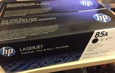 TONER ORIGINALE 85A HP laserjet DUAL PACK CE285AD - NUOVO!!!