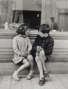 Amours enfantines.   / By Brassaï, Paulette et André, 1949.