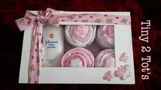 Baby Cupcakes Gift Baby Shower Gift New Mum Gift by Tiny2Tots
