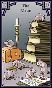 The Mice for the Burning Serpent Oracle, Robert M Place