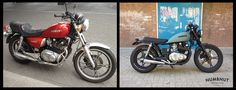 numbnut motorcycles suzuki gs450l before/after