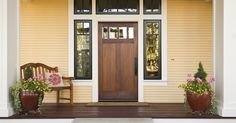 With all the emphasis on paint color and siding, a front door could easily get lost in the shuffle of exterior updates. But as the first and last part of your house a visitor sees, it's the perfect place to make a design statement. Replacing an old or dated looking front door is actually one of the most popular curb appeal ideas, making the choice of your a front door for a new home hugely important. It's more than a decorative feature—it's an important investment. Both the security and…