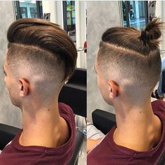 Men's Top Knot Hairstyles More