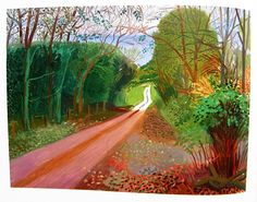Woldgate 24 November 2005 / David Hockney