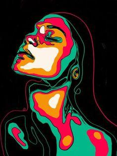 Arte Pop, Pintura Hippie, Arte Inspo, Trippy Painting, Diy Canvas Art, Acrylic Paint On Canvas, Drawing On Canvas, Pop Art Drawing, Small Canvas Art