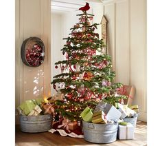 Cardinal Bird Tree Topper | Pottery Barn