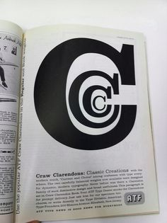 C is for Carole. Big fan of the graphic artist Herb Lubalin