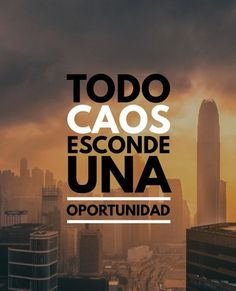 Todo caos esconde una oportunidad* Jiu Jitsu Frases, Frases Tumblr, Stephen Covey, Spanish Quotes, Life Motivation, Good Vibes, Positive Vibes, Positive Phrases, Cool Words